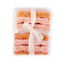 STRAWBERRY&APPLE PASTILA CAKES